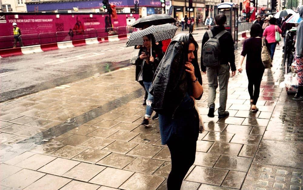 Street Photography - Rain