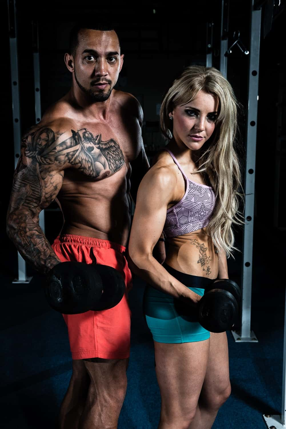 Fitness Photography 2014 - Craig and Abi