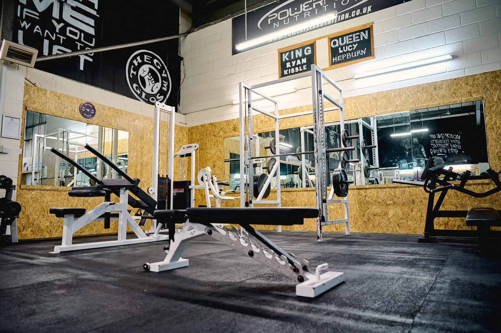 The Gym Gloucester Weights Area