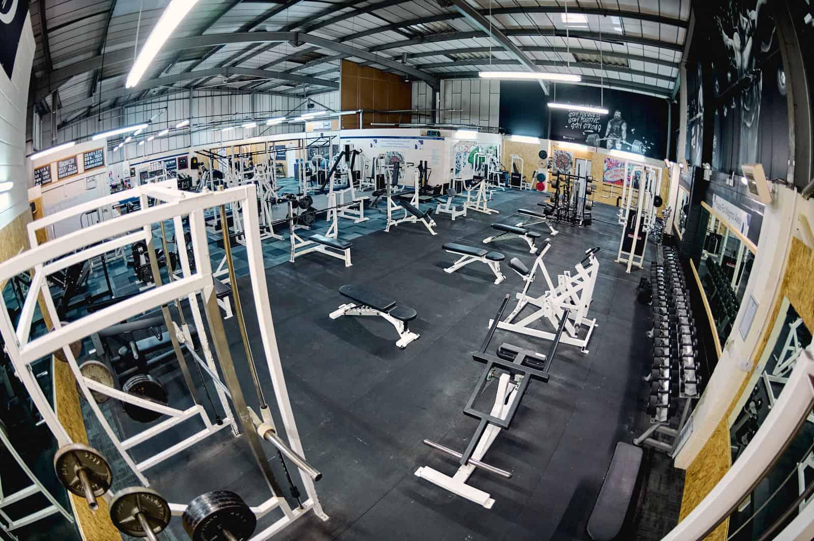 The Gym Gloucester Gym Floor